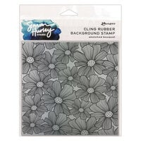 Ranger Ink - Simon Hurley - Cling Mounted Rubber Stamps - Sketched Bouquet