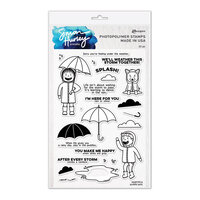 Ranger Ink - Simon Hurley - Clear Photopolymer Stamps - Puddle Pals