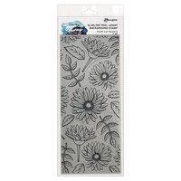Ranger Ink - Simon Hurley - Cling Mounted Rubber Stamps - Slimline - Fresh Cut Flowers