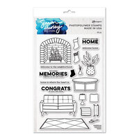 Ranger Ink - Simon Hurley - Clear Photopolymer Stamps - Welcome Home