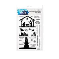 Ranger Ink - Simon Hurley - Clear Photopolymer Stamps - Christmas Silhouettes