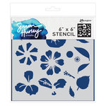 Ranger Ink - Simon Hurley - 6 x 6 Stencils - Flower Maker