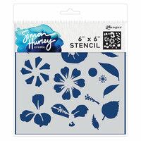 Ranger Ink - Simon Hurley - 6 x 6 Stencils - Flower Maker