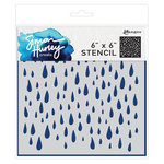 Ranger Ink - Simon Hurley - 6 x 6 Stencils - Looks Like Rain
