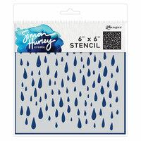 Ranger Ink - Simon Hurley - 6 x 6 Stencils - Looks Like Rain