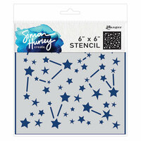 Ranger Ink - Simon Hurley - 6 x 6 Stencils - Stargazer