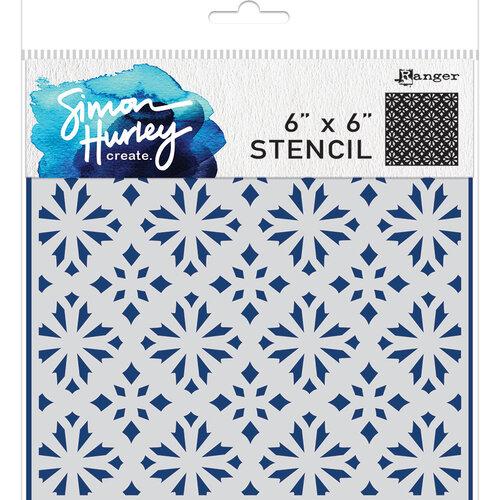 Ranger Ink - Simon Hurley - 6 x 6 Stencils - Sweater Weather