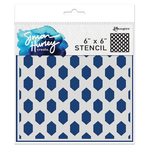 Ranger Ink - Simon Hurley - 6 x 6 Stencils - Honey Hive