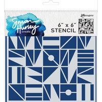 Ranger Ink - Simon Hurley - 6 x 6 Stencils - Geometry