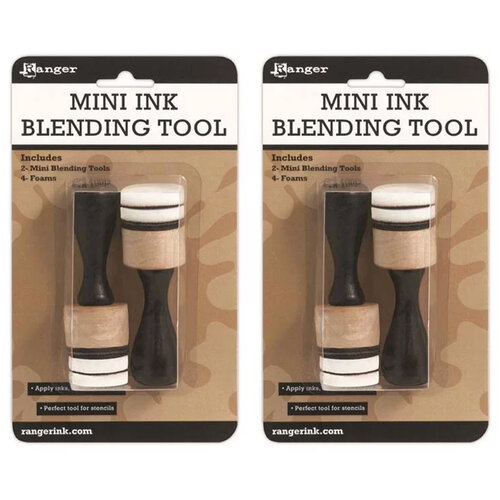 Ranger Ink - Tim Holtz - Mini Ink Blending Tool - Round - 2 Pack