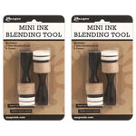 Ranger Ink - Tim Holtz - Mini Ink Blending Tool - Round - 2 Pack