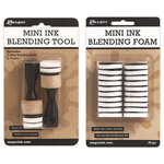 Ranger Ink - Tim Holtz - Mini Ink Blending Tool and Replacement Foam Bundle