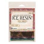 Ranger Ink - ICE Resin - Foil Sheets - Mardi Gras - 10 Pack