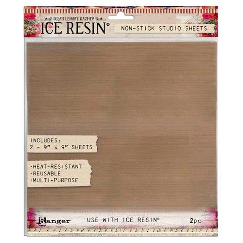 Ranger Ink - ICE Resin - Reusable Non Stick Craft Studio Sheet - 9 x 9