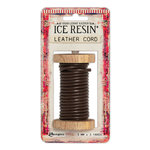 Ranger Ink - ICE Resin - Leather Cording Soft - Dark Brown - 3 mm