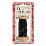 Ranger Ink - ICE Resin - Leather Cording Soft - Black - 2.5 mm