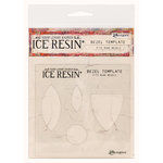 Ranger Ink - ICE Resin - Rune Bezels - Template