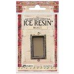 Ranger Ink - ICE Resin - Milan Bezels - Rectangle - Medium - Antique Bronze