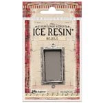 Ranger Ink - ICE Resin - Milan Bezels - Rectangle - Medium - Antique Silver