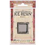 Ranger Ink - ICE Resin - Milan Bezels - Square - Medium - Antique Silver
