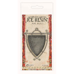 Ranger Ink - ICE Resin - Rune Bezels - Shield - Antique Silver