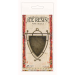 Ranger Ink - ICE Resin - Rune Bezels - Shield - Antique Bronze