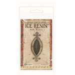 Ranger Ink - ICE Resin - Rune Bezels - Small Ellipse - Antique Silver