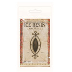 Ranger Ink - ICE Resin - Rune Bezels - Small Ellipse - Antique Bronze