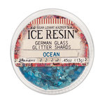 Ranger Ink - ICE Resin - Glass Glitter Shards - Ocean