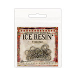 Ranger Ink - ICE Resin - Findings - Jump Rings - Antique Silver
