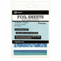 Ranger Ink - Foil Sheets - Frozen - 10 Sheets