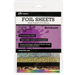 Ranger Ink - Foil Sheets - Celebrate - 10 Sheets