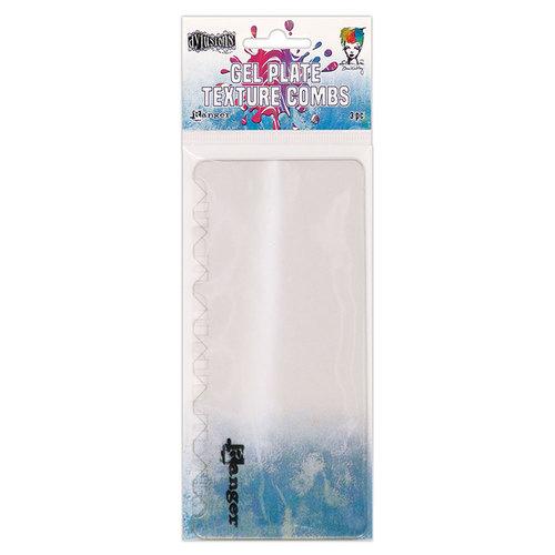Ranger Ink - Gel Plate - Texture Combs
