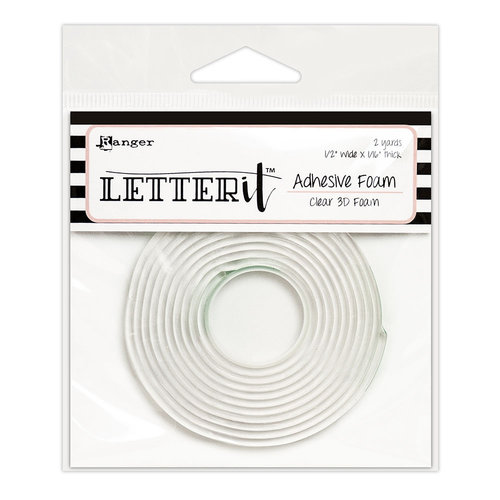Ranger Ink - Letter It Collection - Clear Foam Roll