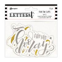 Ranger Ink - Letter It Collection - Foil Die Cuts - Set 2