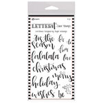 Ranger Ink - Letter It Collection - Clear Acrylic Stamps - Christmas