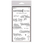 Ranger Ink - Letter It Collection - Clear Acrylic Stamps - Faith