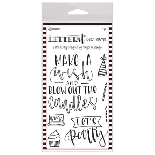 Ranger Ink - Letter It Collection - Clear Acrylic Stamps -Let