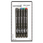 Ranger Ink - Letter It Collection - Fine Liner Colored Pens - Classic