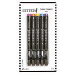 Ranger Ink - Letter It Collection - Fine Liner Colored Pens - Resort