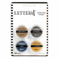 Ranger Ink - Letter It Collection - Embossing Powder - Metallics