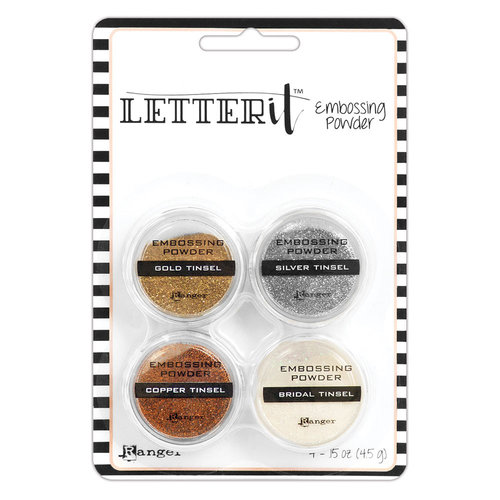 Ranger Ink - Letter It Collection - Embossing Powder - Tinsels