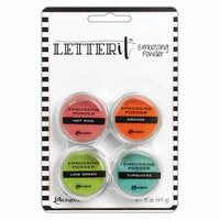 Ranger Ink - Letter It Collection - Embossing Powder - Brights