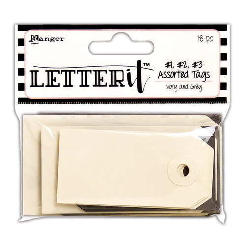 Ranger Ink - Letter It Collection - Tag Assortment