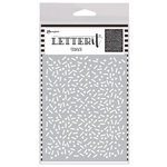 Ranger Ink - Letter It Collection - Background Stencil - Party Time