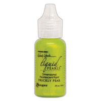 Ranger Ink - Wendy Vecchi - Make Art - Liquid Pearls - Prickly Pear