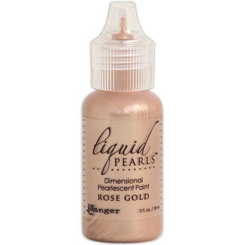 Ranger Ink - Liquid Pearls - Dimensional Paint - Rose Gold