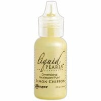 Ranger Ink - Liquid Pearls - Dimensional Paint - Lemon Chiffon