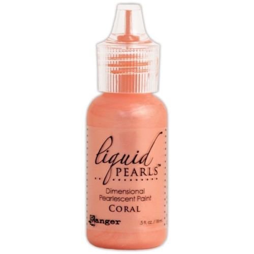 Ranger Ink - Liquid Pearls - Dimensional Paint - Coral