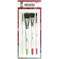 Ranger Ink - Dina Wakley Media - Brushes - 4 Pack